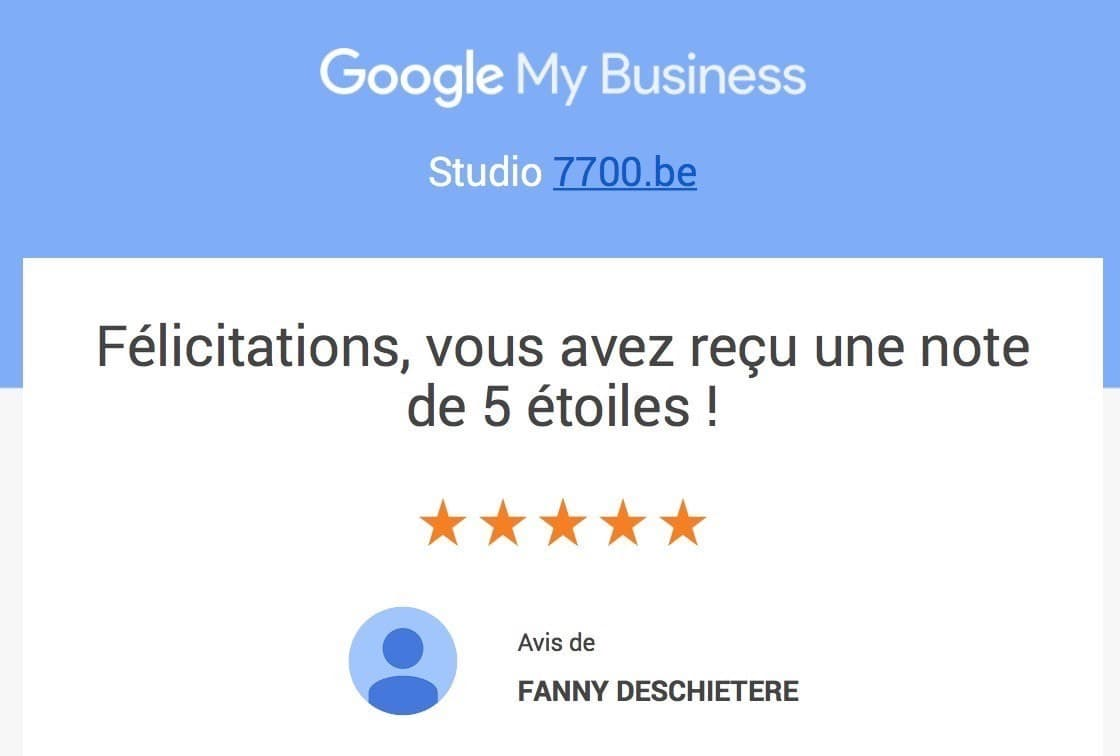 Messages et évaluations laissés par les clients du Studio Fhano.eu 7700.be