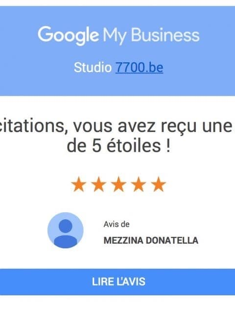 avis clients du STUDIO 7700.BE by Fhano https://www.7700.be