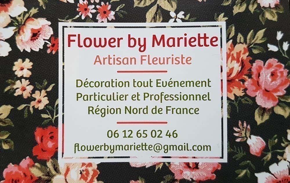 Parmi nos prestataires sélectionnés, Mariette, une fleuriste pleine de peps et d'inventivité pour le nord de la France