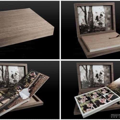 album de mariage youngbook en finition erable ... Studio Fhano.eu vous présente des exemples d'album réalisés par Graphistudio