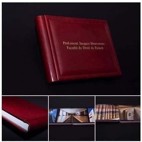 livre album de mariage en cuir véritable ... Studio Fhano.eu vous présente des exemples d'album réalisés par Graphistudio