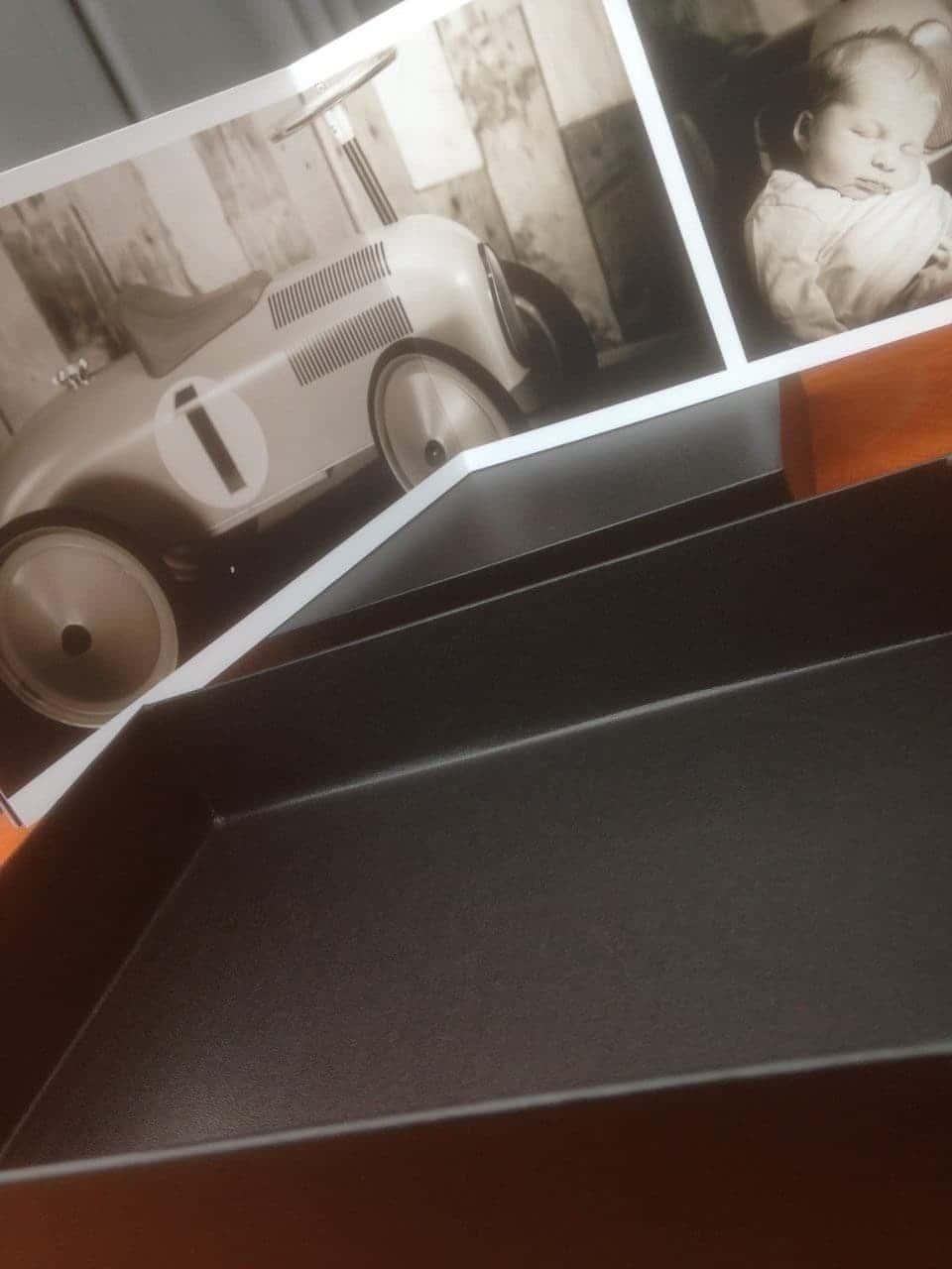 un album en finition d'une séance photo avec le studio Fhano.eu