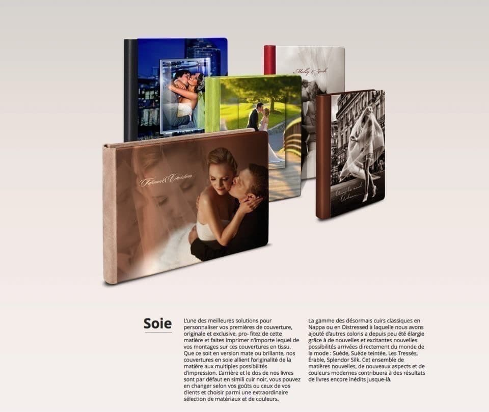 Exemples d'albums réalisables au Studio Fhano.eu - https://www.7700.be