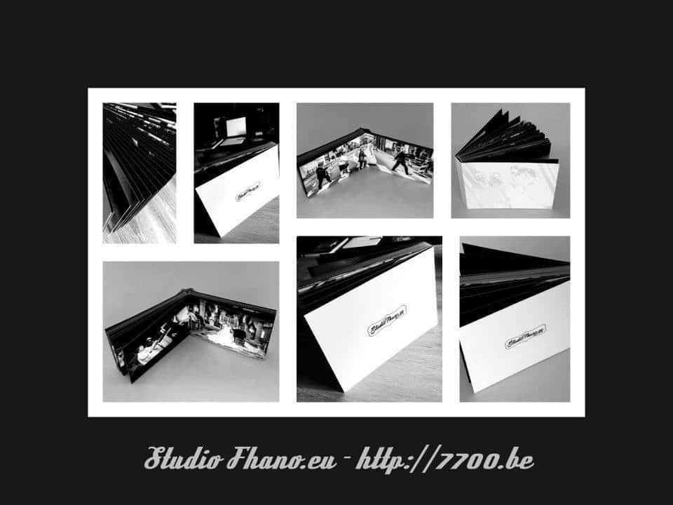 Magnifique album essai noir et Blanc en 15x20Cm 50 pages Studio Fhano.eu - https://www.7700.be