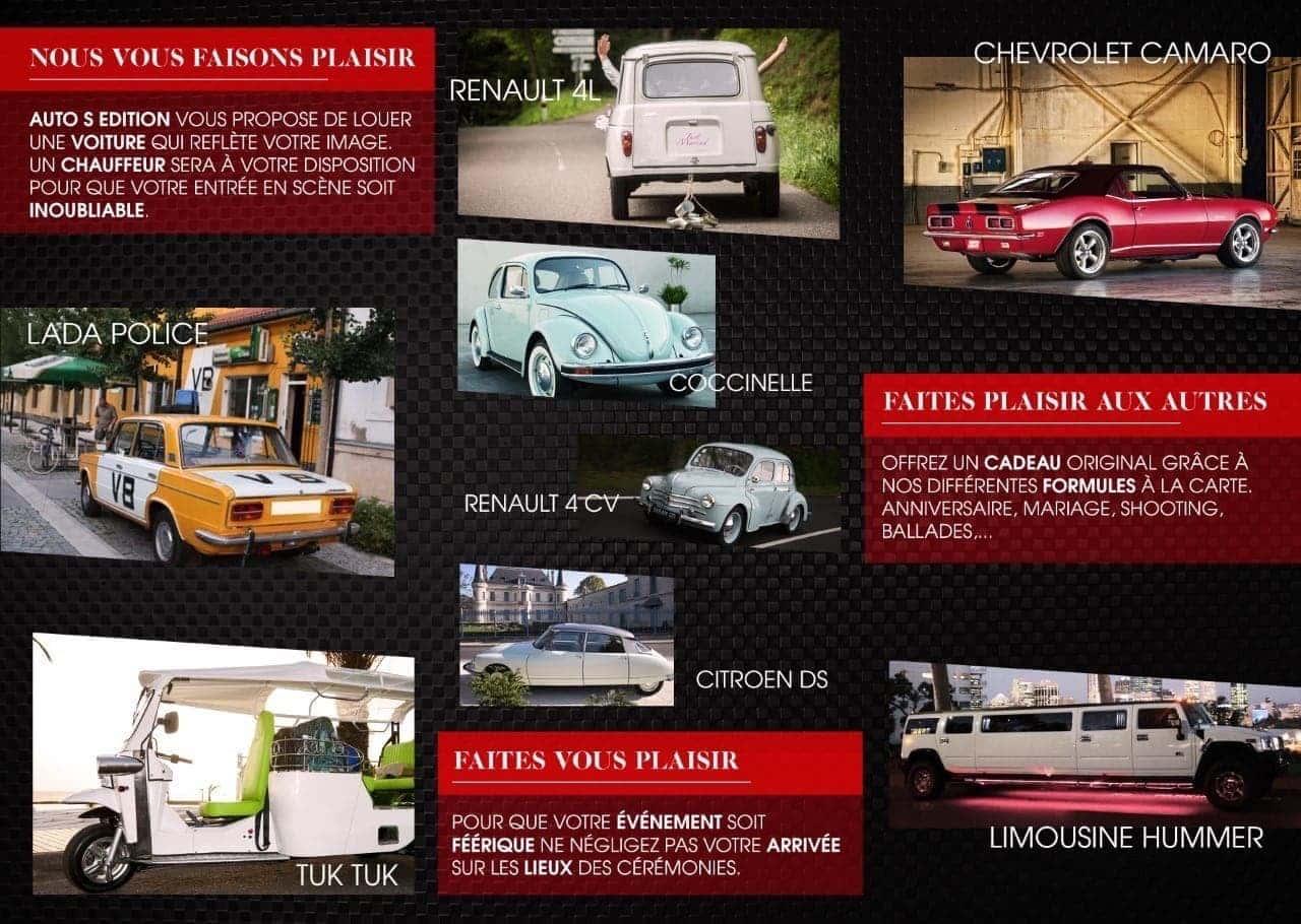 partenaire du STUDIO 7700.BE by Fhano pour la location de voitures Auto's Edition