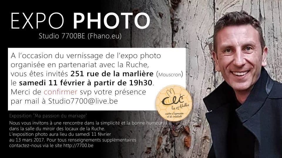 Exposition Photo Studio 7700.BE à la ruche