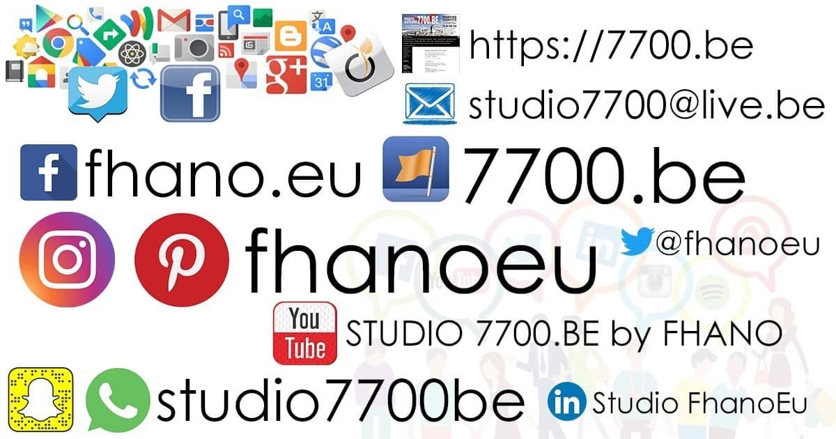 FACEBOOK: https://www.facebook.com/fhano.eu  TWITTER: https://twitter.com/Fhanoeu  INSTAGRAM: https://www.instagram.com/fhanoeu/  PINTEREST: Pinterest du STUDIO 7700.BE