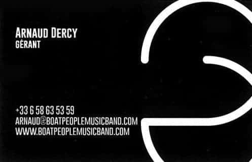 DJ arnaud dercy boat people