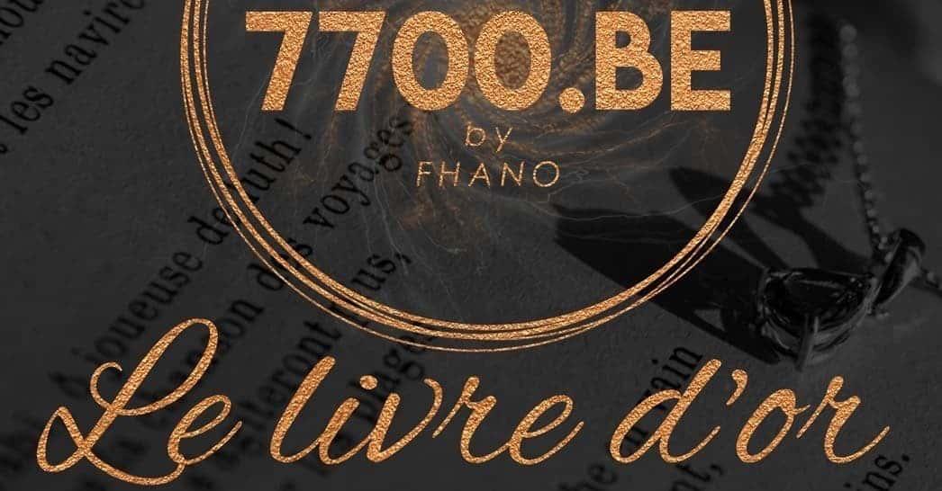 Le livre d-or avec les avis et ce que pensent les clients du studio 7700 point be