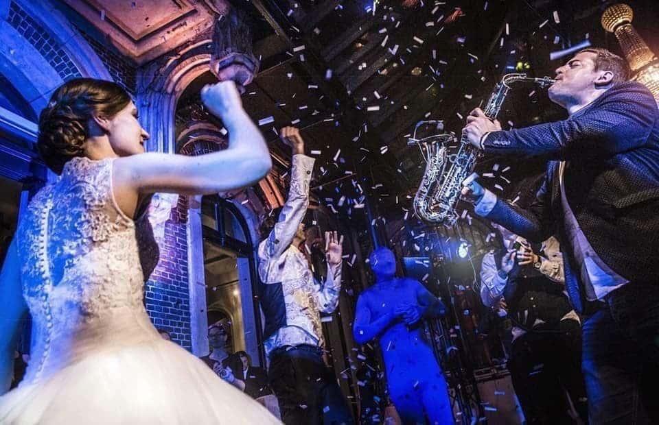Le saxophoniste Matt Metz (Matthieu Laurent Lecointre) élu meilleur prestataire du mariage 2018