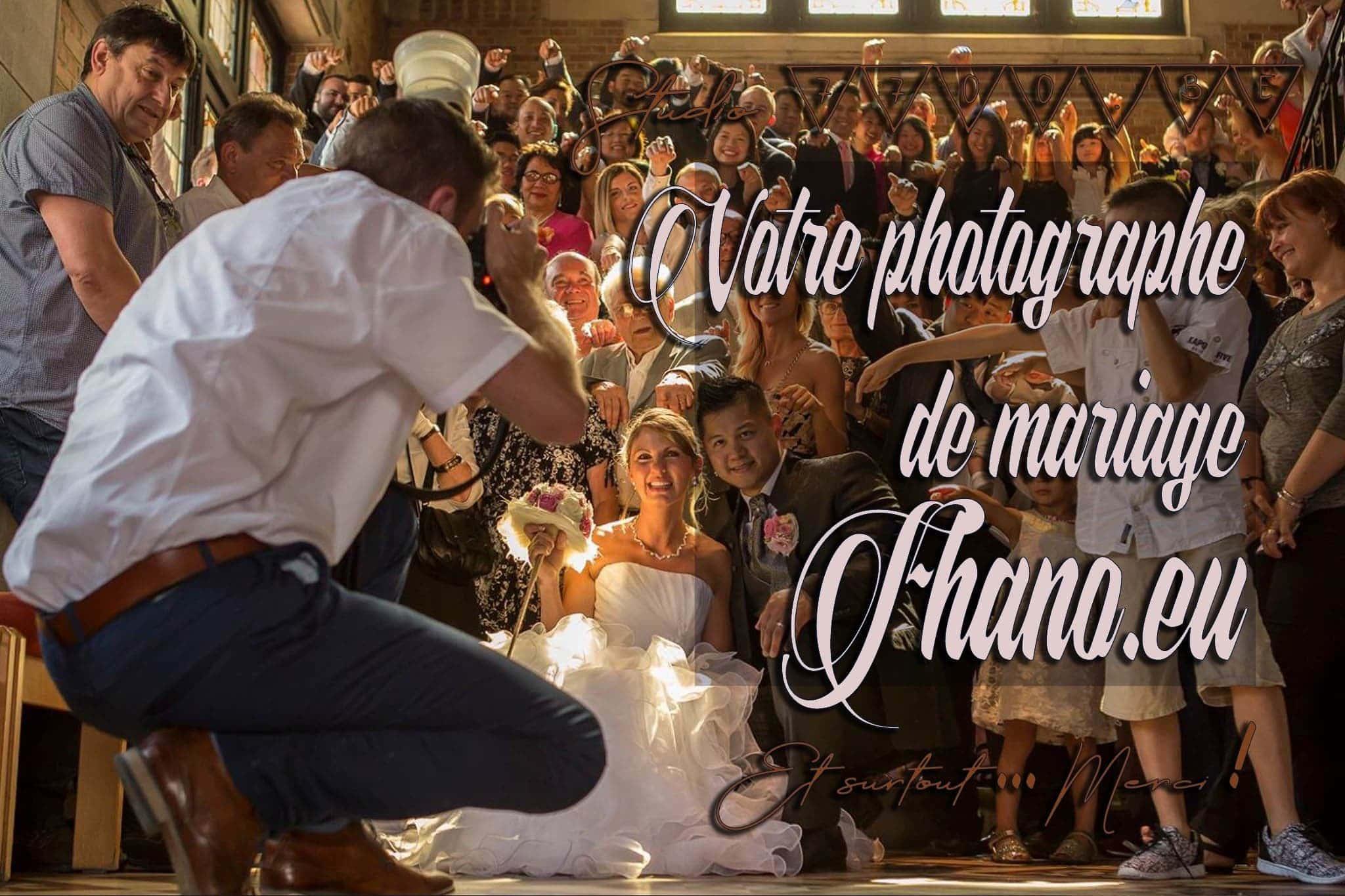 Fhano.eu votre photographe de mariage au studio 7700.BE