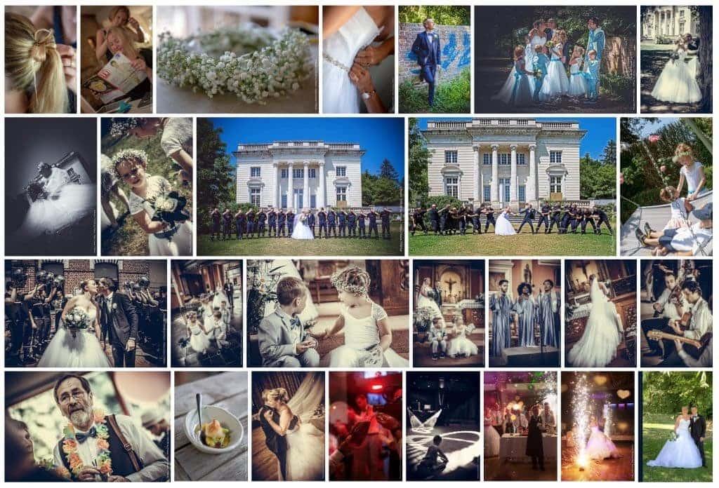 Reportage photos de mariage pour la Belgique, la France, la Suisse et le Luxembourg