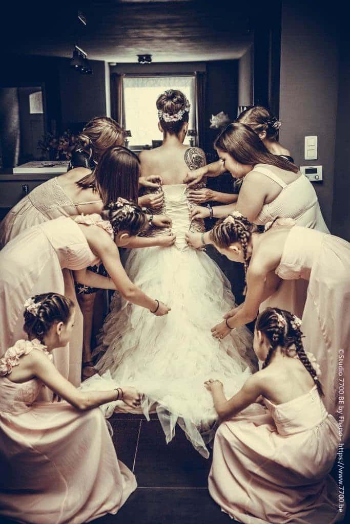 Photo des préparatifs de mariage by STUDIO 7700.BE by Fhano