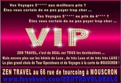 Agence de voyage Zen travel Dany Boereman Rue de Tourcoing à Mouscron