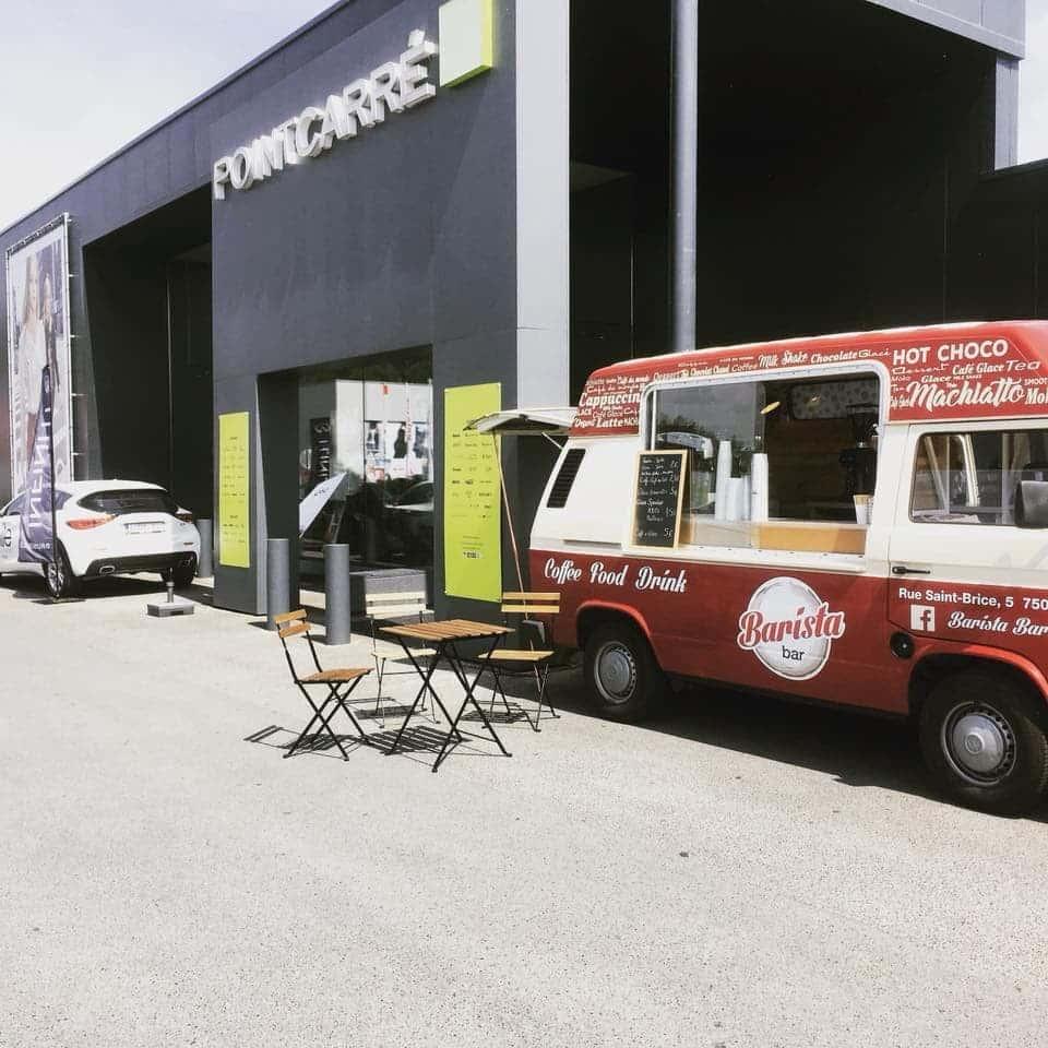 BARISTA TRUCK SPECIALITES CAFES ET AUTRES