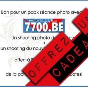 Offrez un bon en cadeau du studio 7700 Be chez Fhano.eu