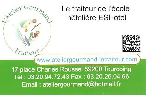 L ATELIER GOURMAND TRAITEUR DE L ECOLE HOTELIERE ESHOTEL