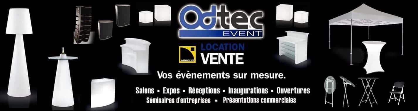 Location et vente de matériel de décoration de salle et pour vos événements sur mesure, Olivier Deconinck Odtech Event