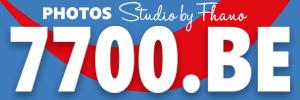 Logo du Studio 7700.BE chez votre photographe Fhano