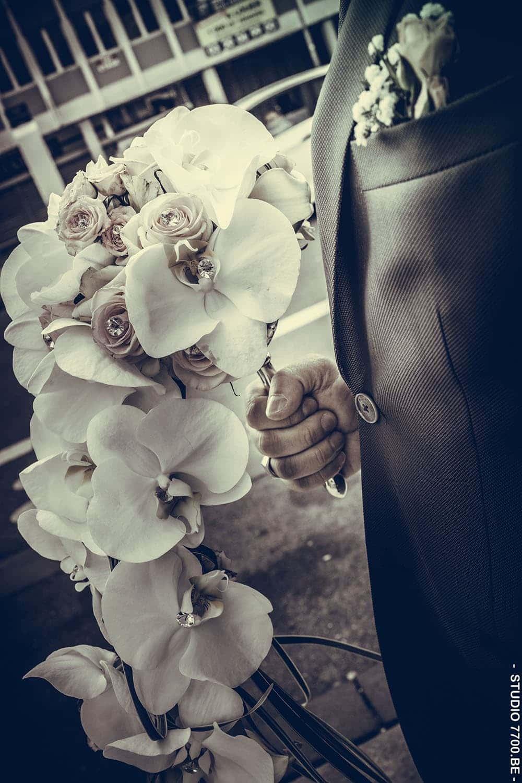 Photo du mariage de Karen et Laurent (©Studio 7700.BE)