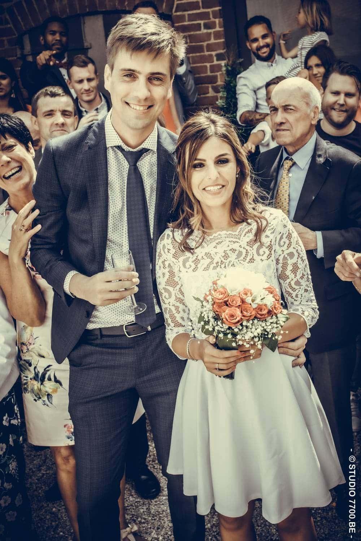 un reportage photo de mariage réalisé par le Studio 7700.BE pour Sandra et Maxime le 12 juillet 2019