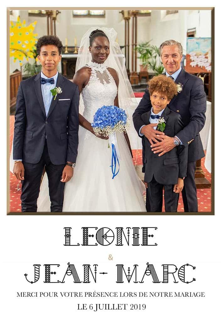 Les photos du mariage de Léonie et Jean-Marc le 6 juillet 2019