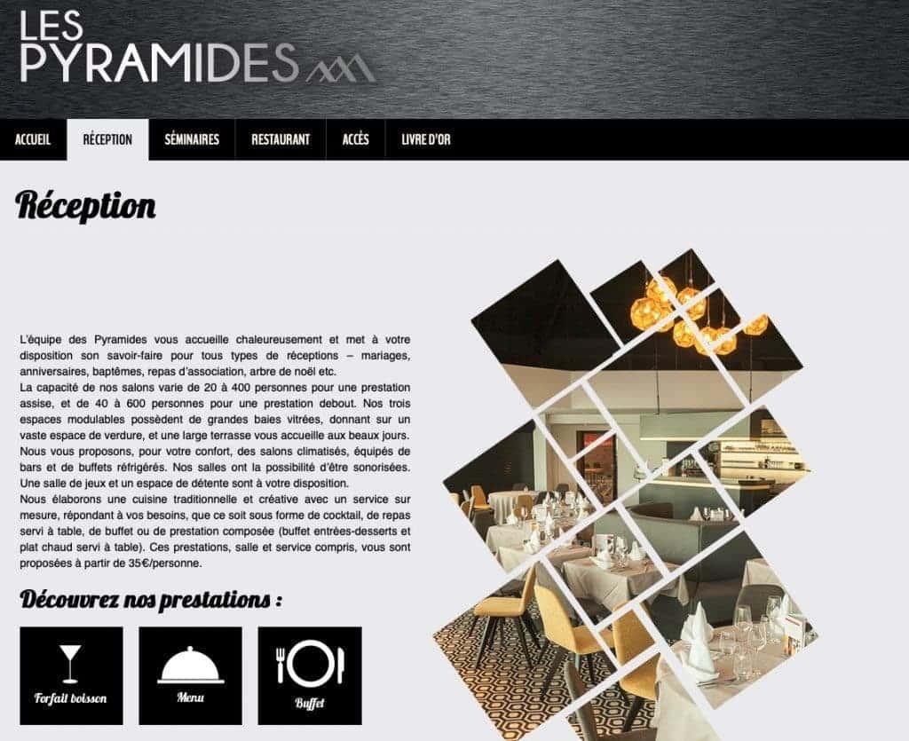 Salle de réception et restaurant Les Pyramides Toufflers, Lys-les-Lannoy, Leers