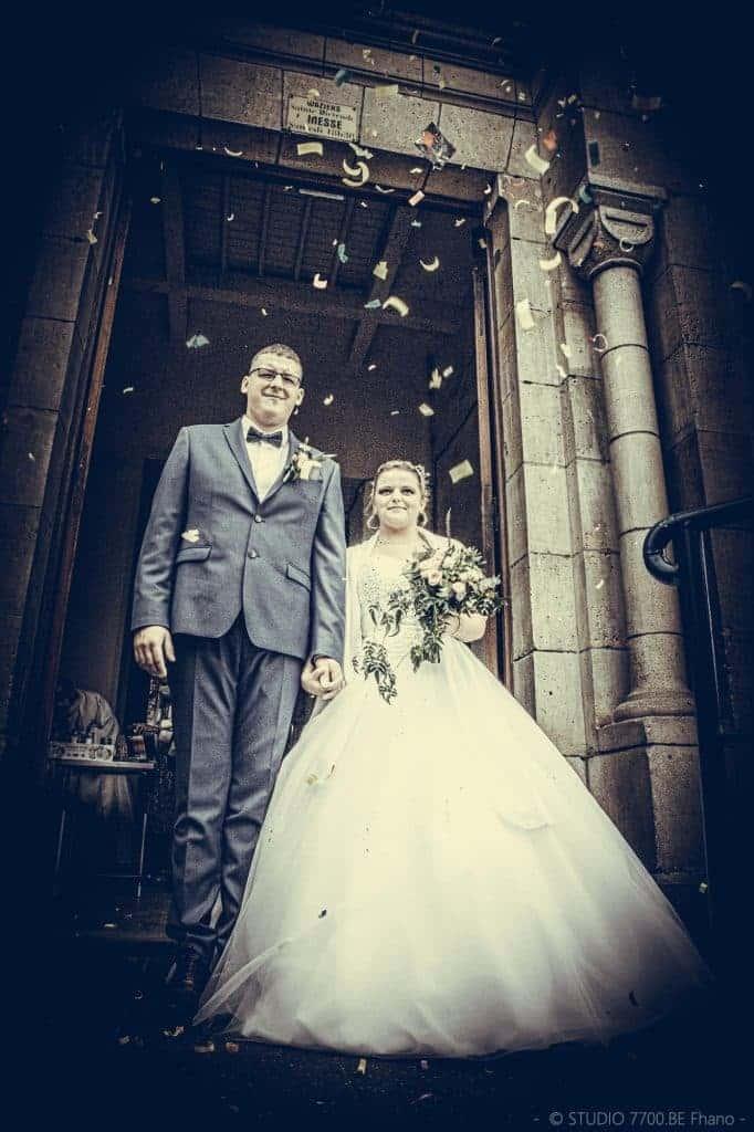 Photo du studio 7700.BE lors du mariage de Pauline et Olivier le 29 AOUT 2020