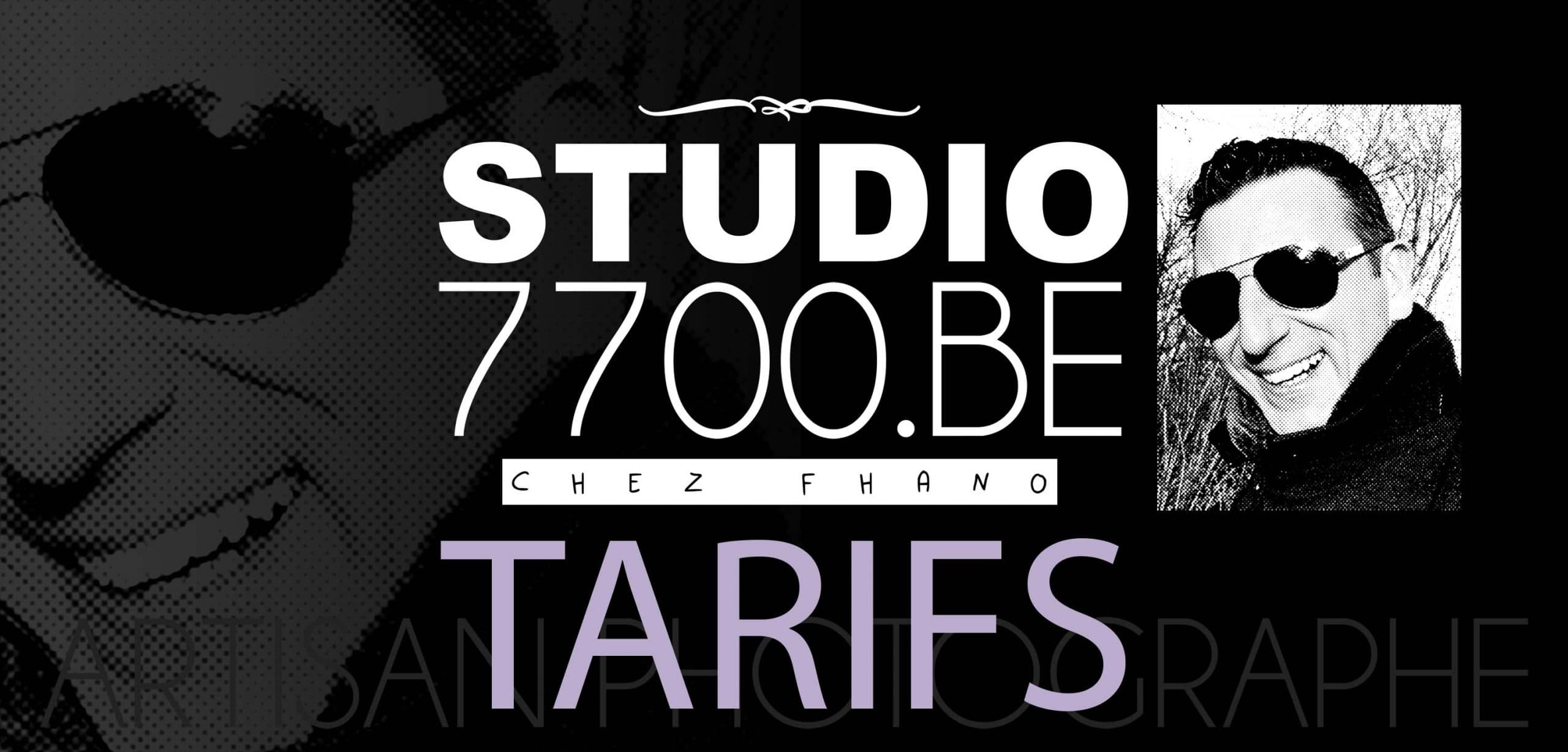 Les tarifs du Studio 7700.BE chez Fhano