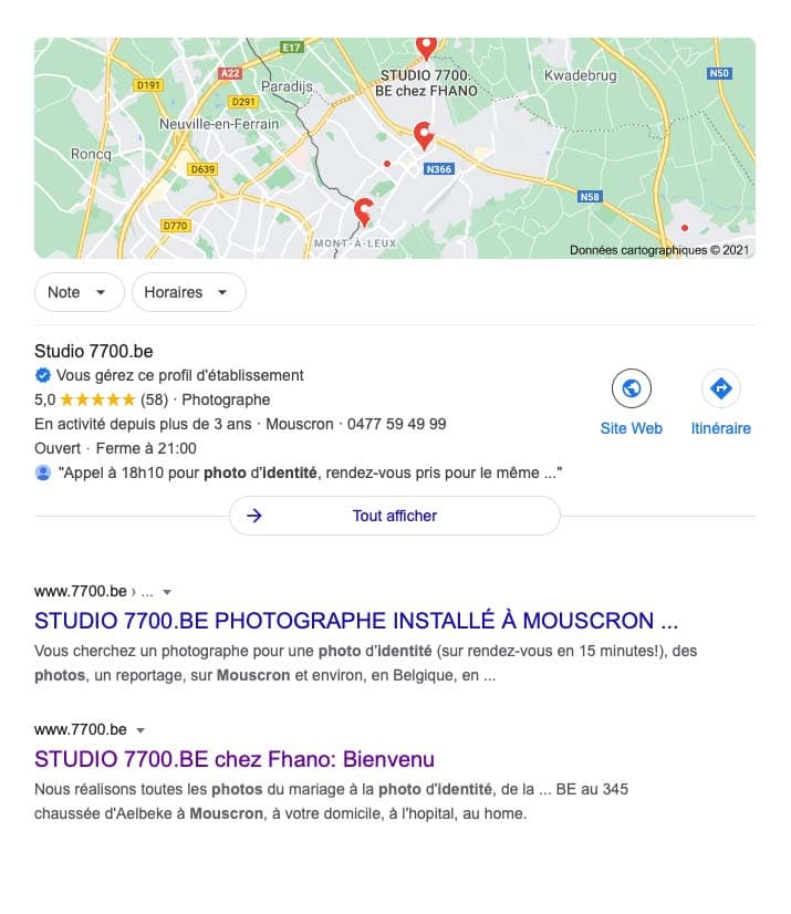 Ou faire des photos d'identité ou passeport à mouscron