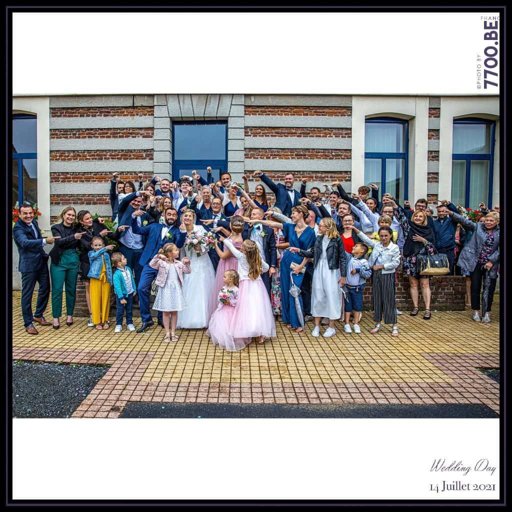Cérémonie à la mairie - Quelques photos © faites par le studio 7700BE et votre photographe Fhano lors du mariage de GERALDINE ET SEBASTIEN