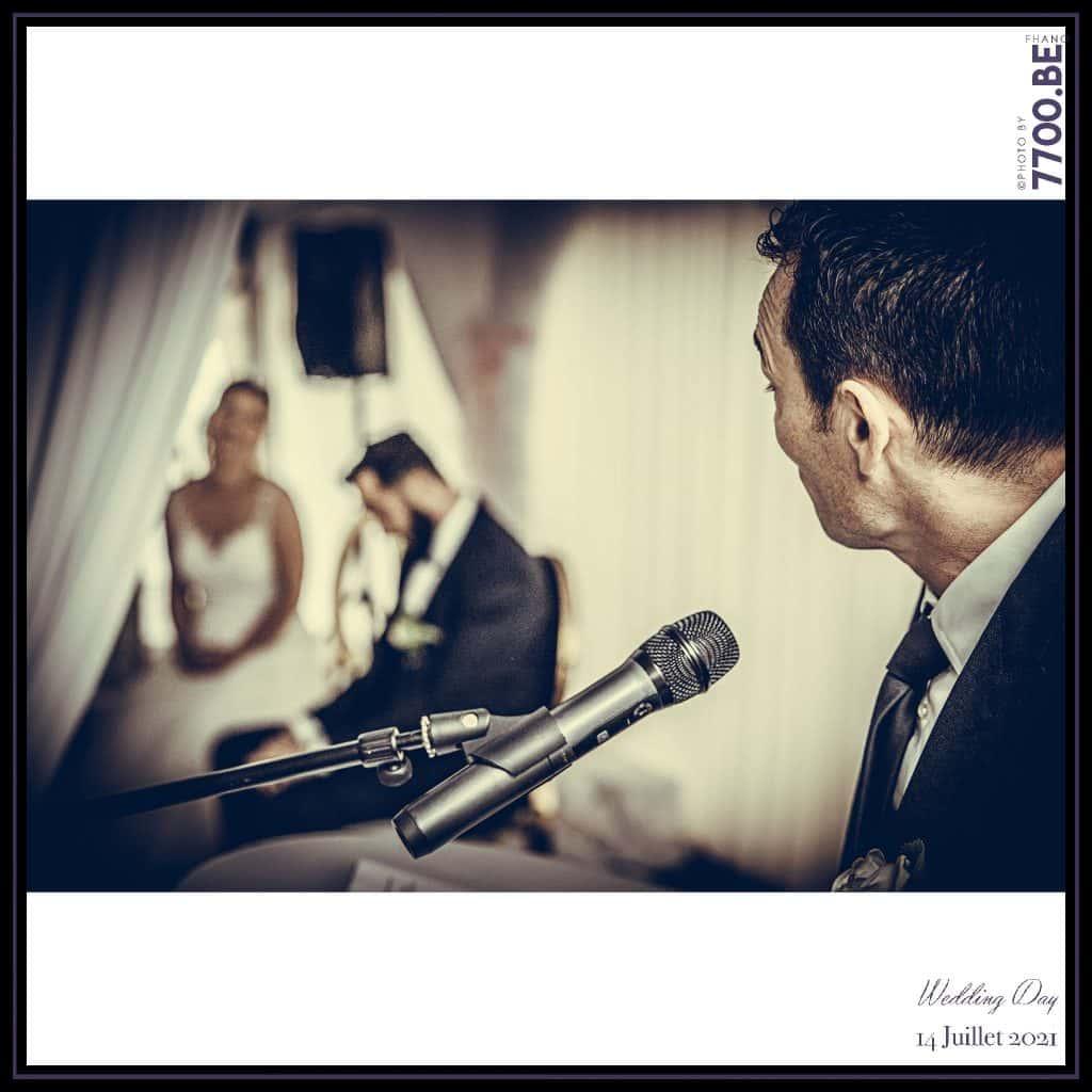 Discours des témoins - Cérémonie Laïque avec échange des sables - Quelques photos © faites par le studio 7700BE et votre photographe Fhano lors du mariage de GERALDINE ET SEBASTIEN