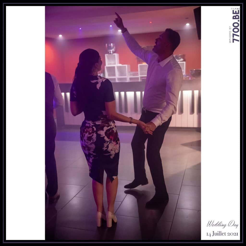 Soirée dansante - Quelques photos © faites par le studio 7700BE et votre photographe Fhano lors du mariage de GERALDINE ET SEBASTIEN