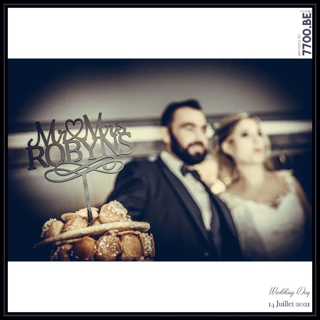 La pièce montée et la découpe du gâteau - Quelques photos © faites par le studio 7700BE et votre photographe Fhano lors du mariage de GERALDINE ET SEBASTIEN
